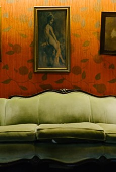 Who wants to make out on this couch later?
