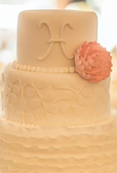 A sample of a cake from Cut the Cake bakery in Orlando