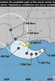 Wet, windy weather expected in Central Florida as a result of potential tropical storm forming in Gulf of Mexico