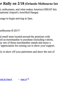 This Craigslist ad offering to pay Trump supporters to go to his Florida rally is probably fake