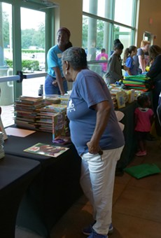 12,000 books to be donated at the Need to Read Orlando Book Giveaway