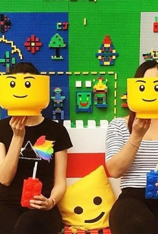 A 'Brick Bar' built with 1 million LEGOs is coming to Orlando