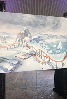 SeaWorld Orlando announces Ice Breaker launch coaster for 2020
