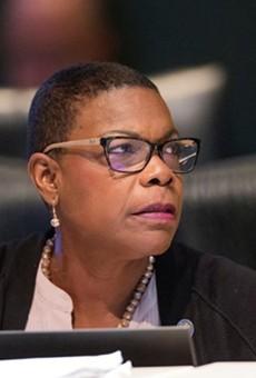 Senate Minority Leader Audrey Gibson