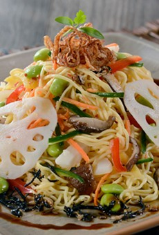 Shiriki noodle salad from Jungle Navigation Co. Ltd Skipper Canteen at Magic Kingdom Park