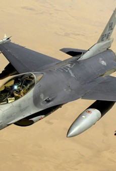 You can apparently purchase an F-16 fighter jet in Florida now