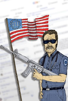 Welcome to Roll Call, a Facebook group set up by a violent militia leader full of EMTs, cops and corrections officers