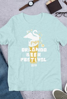 Orlando Beer Festival T-shirts to receive the Swan City treatment