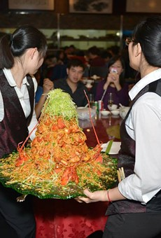 Expect seafood towers at YH Seafood Club that resemble those at Fishman Lobster Clubhouse Restaurant