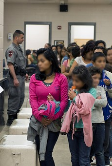 U.S. Customs and Border Protection provide assistance to unaccompanied migrant children at the south Texas border