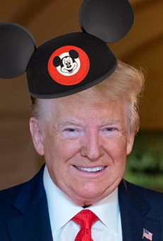 Trump's visit to Walt Disney World next month will continue a long history of presidential visits