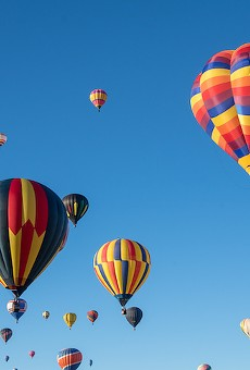 Take a ride in the clouds at Orlando Balloon Glow in Blue Jacket Park