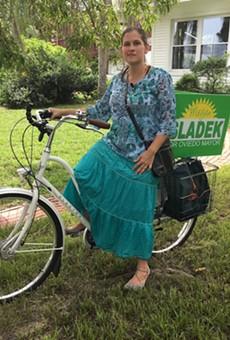 This is Oviedo Mayor-elect Megan Sladek. Also, women do stuff.