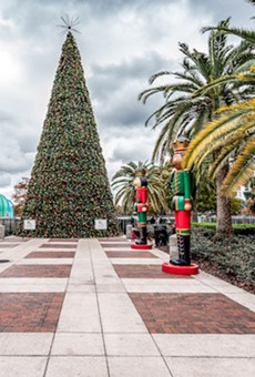 Ring in the holidays at Orlando's Lake Eola Park for their annual tree lighting ceremony