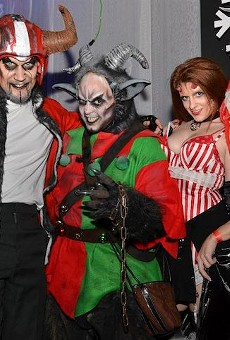 Orlando's Moshi Moshi Productions throw Twisted Krampus party at I-Drive's Icebar