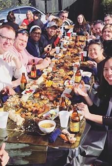 The Filipino Kamayan Feast at Kadence Orlando