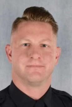 OPD officer Jonathan Mills