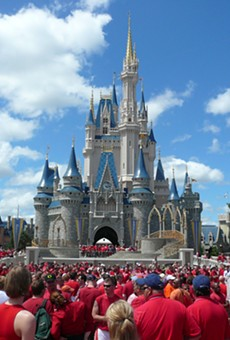 Walt Disney World (not Disneyland)