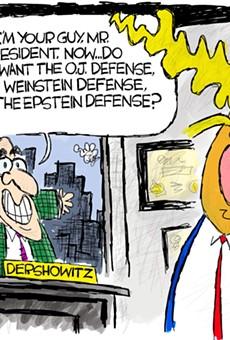 Trump's Dershowitz Defense