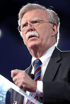 Former Ambassador John R. Bolton speaking at the 2017 Conservative Political Action Conference