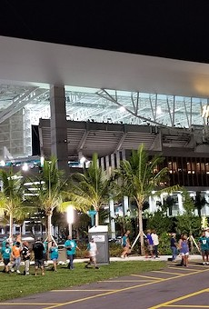 Hard Rock Stadium in Miami Gardens