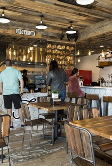 Bagel Bruno serves delightful 'Orlando-style' bagels inside a Foxtail Coffee