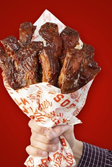 Boston Market, desperate for your attention, offers Valentine's Day bouquets of 'BAE-by Back Ribs'