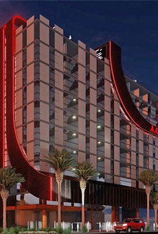 Artist rendering of the new Atari Hotel in Phoenix