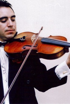 Dr. Mauricio Cespedes Rivero Principal Viola, Orlando Philharmonic