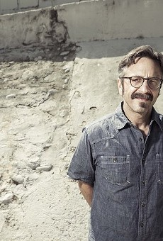 Comedian and podcast king Marc Maron spends Valentine's Day at Orlando's Hard Rock Live