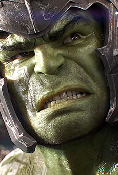 Mark Ruffalo as Hulk in 'Thor: Ragnarok'