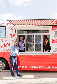 Portillo's Beef Bus will make two stops at Orlando's Icon Park
