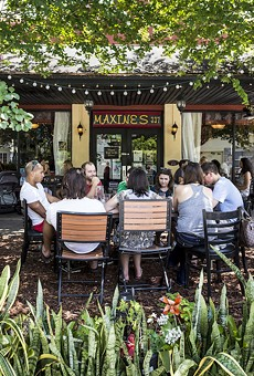 Alfresco brunch at Maxine's on Shine