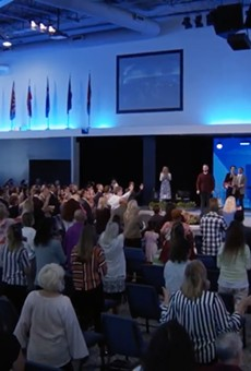 Central Florida megachurch makes headlines again for packed Sunday services