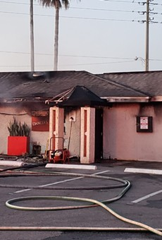 Orange County strip club Dancers Royale has suffered a devastating fire
