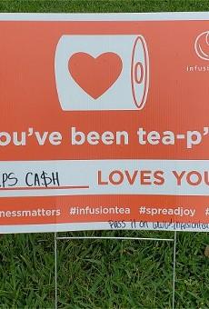 """Tea P"" your neighbors"
