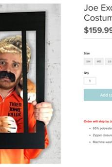 PETA is selling a 'Joe Exotic' Halloween costume