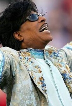 Rest in peace Little Richard, and please enjoy this video of him holding court and performing at Epcot