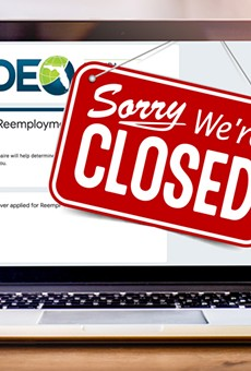 Florida's unemployment website will close earlier than usual on Wednesday