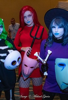 Attendees at last year's Fantasm con