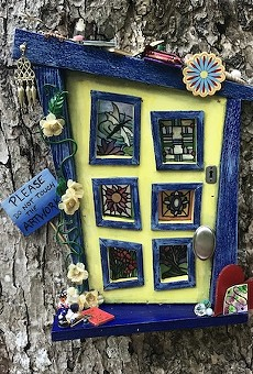 Enchanted Fairy Doors exhibit returns to Leu Gardens in August