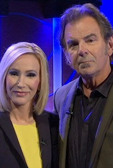 Pastor Paula White-Cain with her husband, Jonathan Cain of Journey