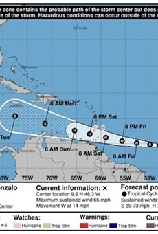 Tropical Storm Gonzalo likely to become 2020's first hurricane