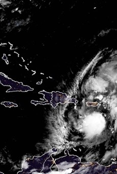 Storm heading to Florida closes state COVID-19 testing sites