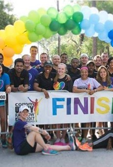 The 2018 CommUNITY Rainbow Run