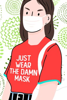 'Oh yeah? Where's the science?' asked these commenters on an article about the science of how mask-wearing protects from viruses