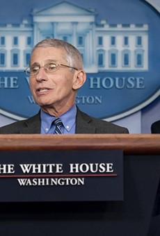 COVID-19 response leader Anthony Fauci (above) and National Institutes of Health leader Francis Collins recently questioned how efficacious convalescent plasma treatments could be.