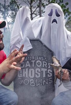 Gatorland brings back 'Gators, Ghosts and Goblins' all-ages Halloween event in October
