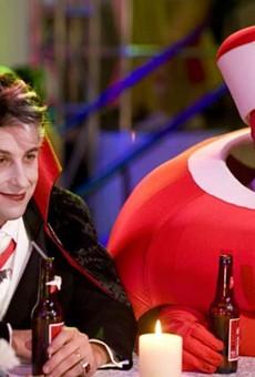 Adam Sandler and Kevin James as Adam Sandler and Kevin James in 'Hubie Halloween'