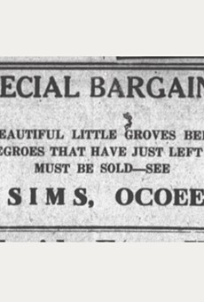 100 years ago in Ocoee, Black residents were murdered and driven off the land they owned, yet few know the story